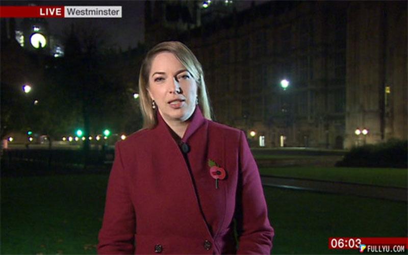 BBC記者連線背景音樂「啊啊~」響徹雲霄,網友笑翻:「記者超敬業」!